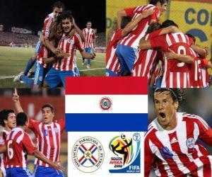 puzzel Selectie van Paraguay, Groep F, Zuid-Afrika 2010