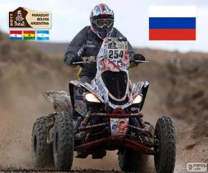 puzzel Sergej Karyakin, Dakar 2017