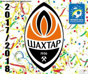 puzzel Shakhtar Donetsk, 2017-18 kampioen