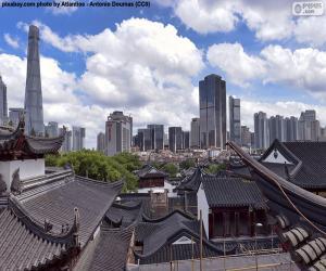 puzzel Shanghai, China