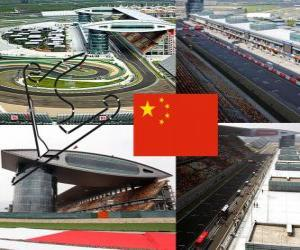 puzzel Shanghai International Circuit - China -