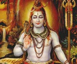 puzzel Shiva, Shiwa en Śiva - De torpedobootjager God in de Trimurti, de Hindoe Drie-eenheid