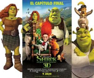 puzzel Shrek Forever After