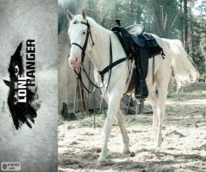 puzzel Silver is John paard