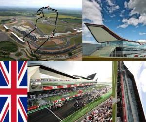 puzzel Silverstone Circuit - Engeland -