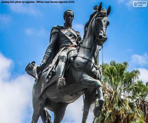 puzzel Simón Bolívar