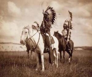 puzzel Sioux opperhoofd
