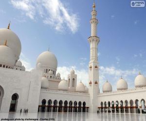puzzel Sjeik Zayed-moskee, Abu Dhabi