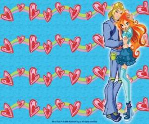 puzzel Sky, Prins van Eraklion en Bloom in de liefde
