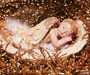 puzzel Slapende engel