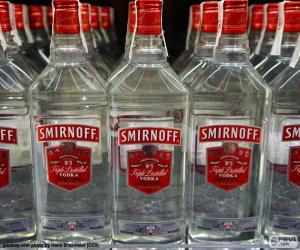 puzzel Smirnoff Wodka