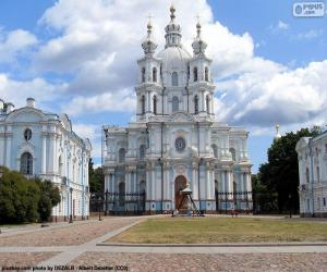 puzzel Smolny klooster, Rusland