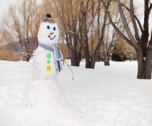 puzzel Sneeuwpop