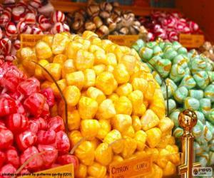 puzzel Snoepjes en zijn kleuren