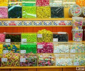 puzzel Snoepwinkel