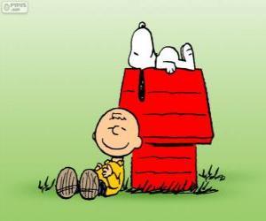 puzzel Snoopy en Charlie Brown
