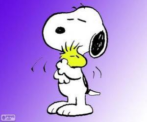 puzzel Snoopy en Woodstock