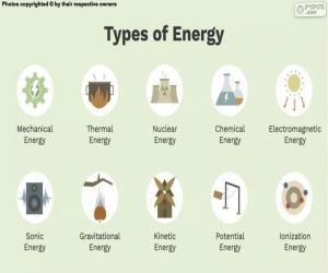 puzzel Soorten energie
