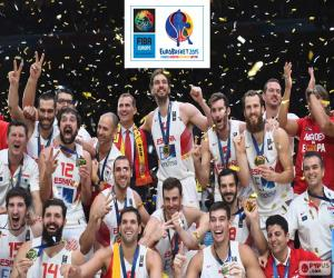 puzzel Spanje, EuroBasket 2015