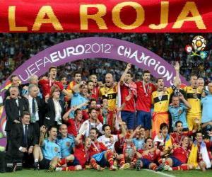 puzzel Spanje, UEFA EURO 2012 kampioen