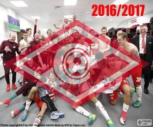 puzzel Spartak Moskou, 2016-2017 kampioen