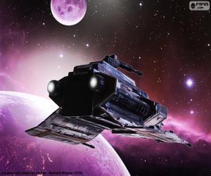 puzzel Speciale schip voor de ruimte