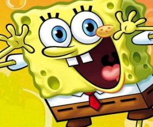 puzzel SpongeBob gelukkig