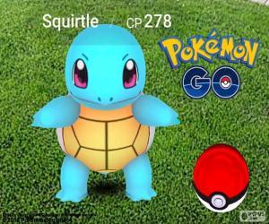 puzzel Squirtle Pokémon GO