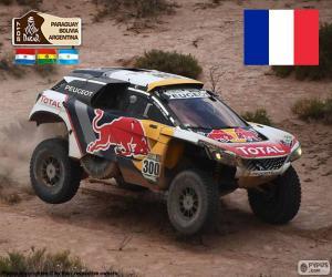 puzzel Stéphane Peterhansel, Dakar 2017
