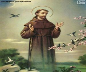 puzzel St. Franciscus van Assisi