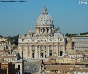 puzzel St. Peter's Basiliek, Vaticaan