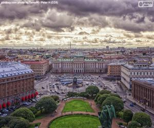 puzzel St. Petersburg, Rusland