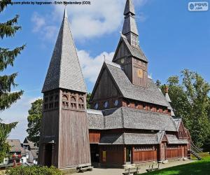 puzzel Staafkerk, Duitsland