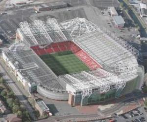 puzzel Stadion van Manchester United FC - Old Trafford -