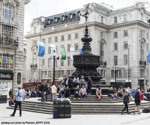 puzzel Standbeeld van Eros, Londen