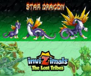 puzzel Star Dragon, laatste evolutie. Invizimals The Lost Tribes. De meest waardevolle dragon invizimal