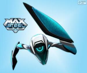puzzel Steel, een alien van Ultra-link-technologie