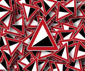 puzzel Steile helling signaal