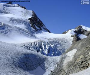 puzzel Stein Glacier, Zwitserland