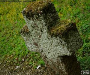 puzzel Stenen kruis