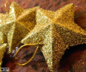 puzzel Ster voor kerstboom