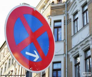 puzzel Stop en parkeren verboden
