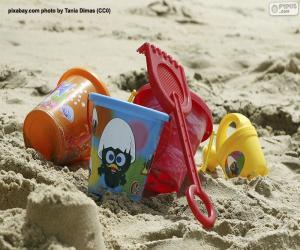 puzzel Strandspeelgoed