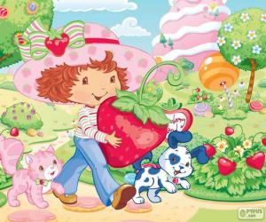 puzzel Strawberry Shortcake