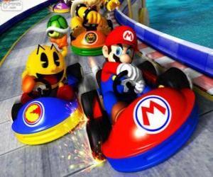 puzzel Super Mario Kart