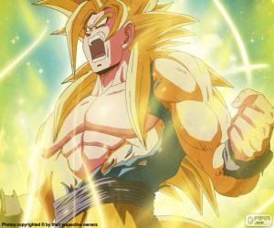 puzzel Super Saiyan Dragon Ball