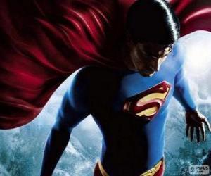 puzzel Superman, een van de meest beroemde superhelden