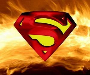 puzzel Superman logo
