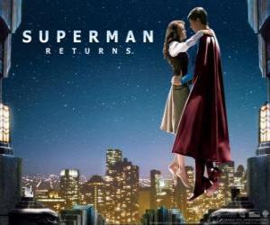 puzzel Superman te Lois Lane