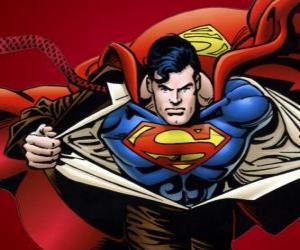 puzzel Superman tekening